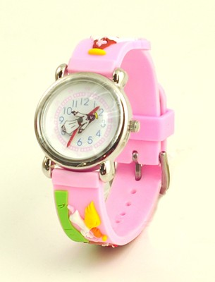 Jesus' Ascension Child's Watch, Pink  -