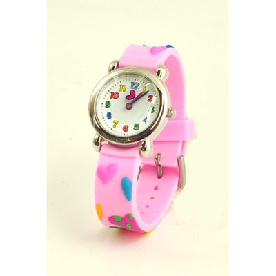 Hearts Child's Watch, Pink  -