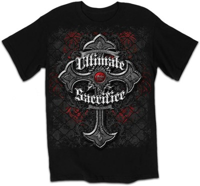 Ultimate Sacrifice Shirt, Black, Medium  -