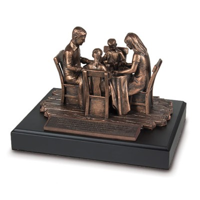 Family Prayer Sculpture  -
