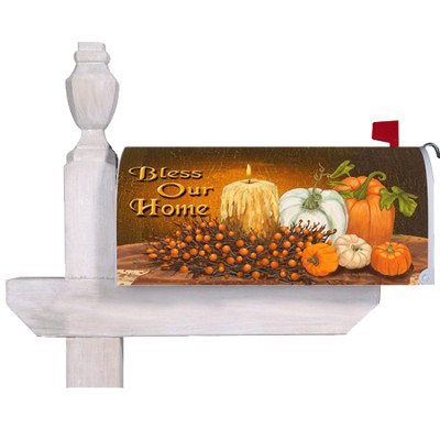 Bless Our Home Mailbox Cover   -     By: MaryLou Troutman