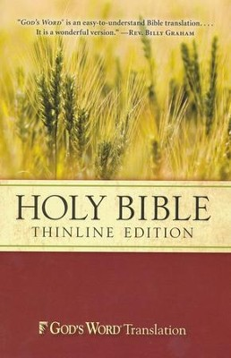 God's Word Thinline Bible, Softcover  -
