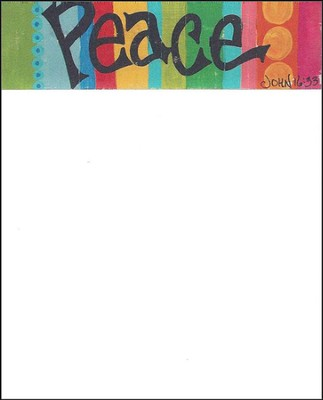 Peace Notecard  -
