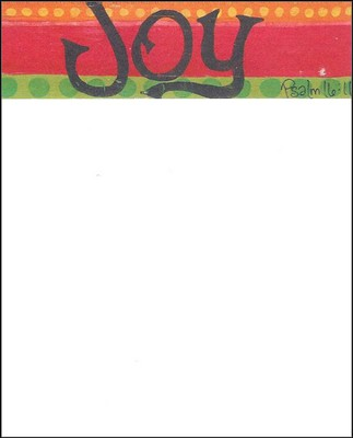 Joy Notecard  -