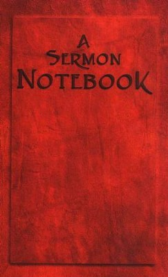 A Sermon Notebook   -
