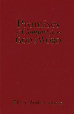 Promises of Comfort from God's Word, Imitation leather-maroon  -
