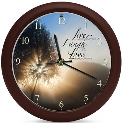 Live Laugh Love Clock, Amazing Grace  -