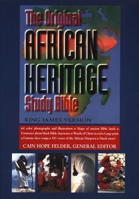 The KJV Original African Heritage Study Bible   -     Edited By: Cain Hope Felder