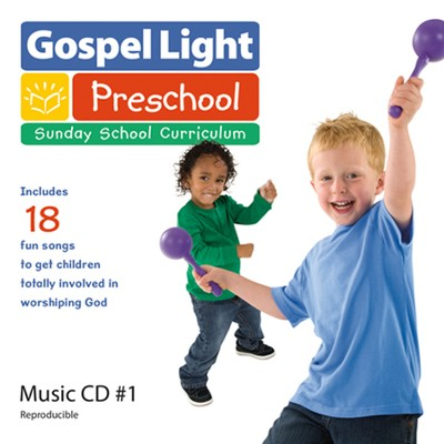 Preschool Ages 3-5 Reproducible Music CD #1, Spring 2014, Year A  -
