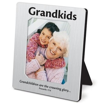 Grandkids, Mini Metal Frame  -