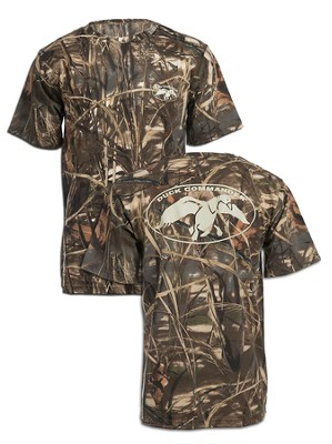 Duck Commander Logo Shirt, Camo XXL      Duck Commander Series   -