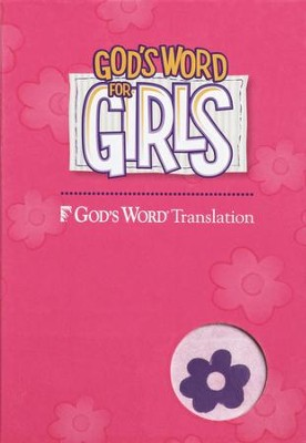 God's Word for Girls, Duravella Purple/Pink  -
