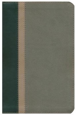 God's Word for Boys, Duravella Hunter Green/Khaki  -