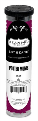 Potted Mums Soy Fragrance Beads  -
