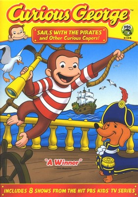 Curious George: Sails with Pirates and Other Capers! DVD   -