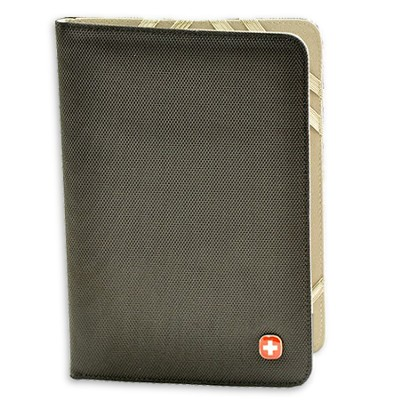Universal eReader Cover, Red Cross, Black  -