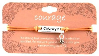 I Choose Courage Bracelet  -