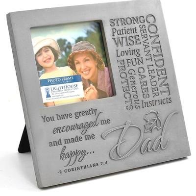 Dad Photo Frame  -