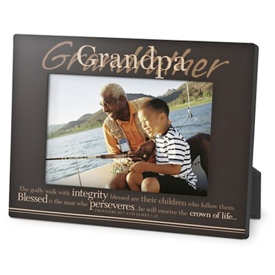 Grandpa, You Inspire Me Photo Frame  -