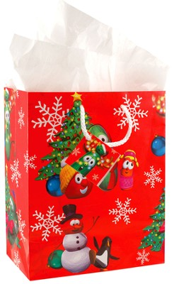 VeggieTales Christmas Gift Bag, Small  -