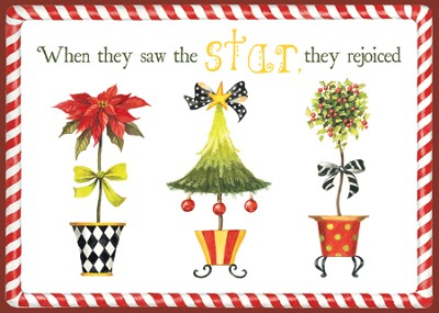 The Star Christmas Cards, African American  - Slightly Imperfect  -