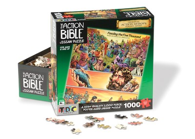 Feeding the 5000, 1000 Piece Puzzle  -
