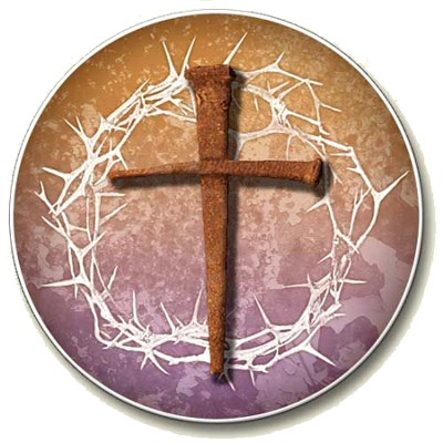 Cross, Crown of Thorns Auto Coaster  -