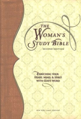 NKJV Woman's Study Bible, Second Edition, Hardcover  -