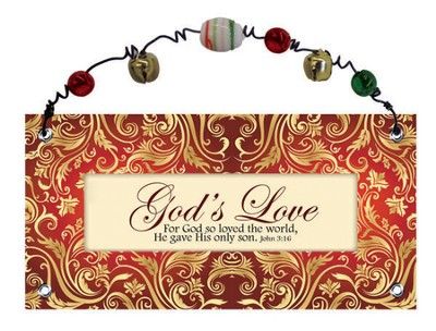 God's Love Plaque  -
