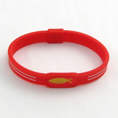 GP Wristband, Red, Large  -