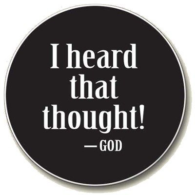 I Heard That Thought - God Auto Coaster  -