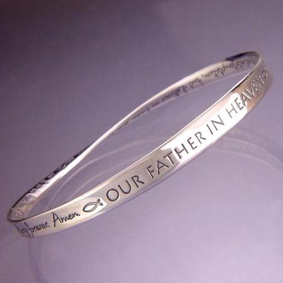 Lord's Prayer (NIV), Mobius Bracelet   -