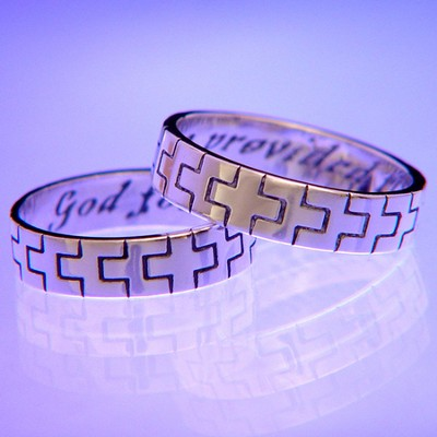 God for Me Provided Thee, Ring Size 10   -