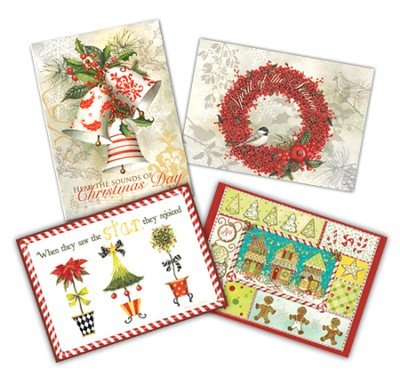 Christmas Assortment Cards                        -