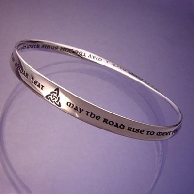 May the Road Rise Up to Meet You Mobius Bracelet  -