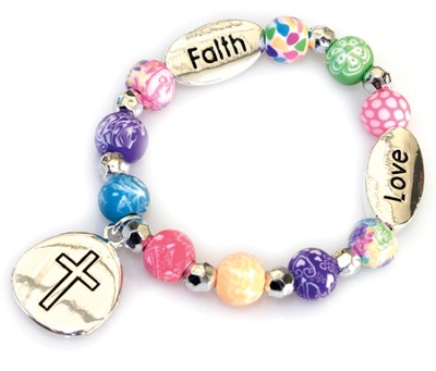 Faith, Love Bracelet Child's Bracelet  -