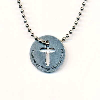 I Can Do All Things Necklace Philippians 4:13  -