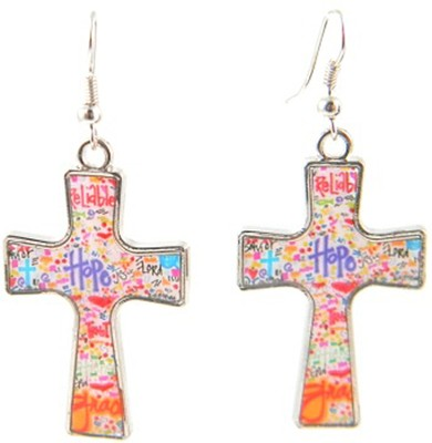 Hope Cross Earrings, Dana Designs  -