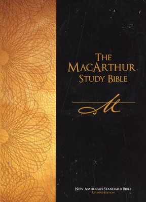 NASB The MacArthur Study Bible (Updated Edition) - Slightly Imperfect  -