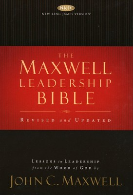 NKJV Maxwell Leadership Bible: Second Edition, hardcover - Slightly Imperfect  -