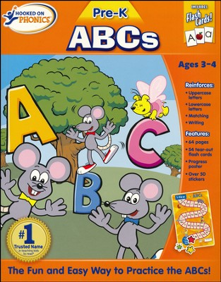 Hooked on Phonics: Pre-K ABC's Premium Workbook   -