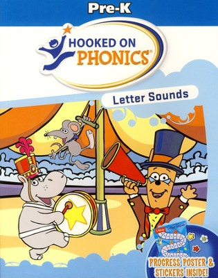 Hooked on Phonics: Pre-K Letter Sounds Workbook   -