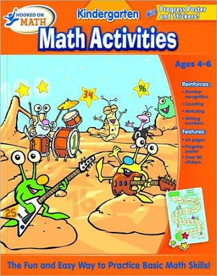 Hooked on Math:  Kindergarten Math Activities   -