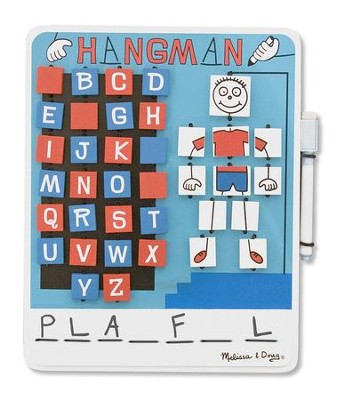 Flip to Win Hangman Travel Game  -