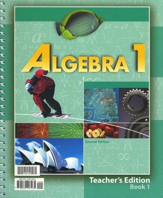 BJU Math 9: Algebra 1, Teacher's Edition     -