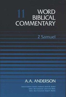 2 Samuel: Word Biblical Commentary [WBC]   -     By: A.A. Anderson