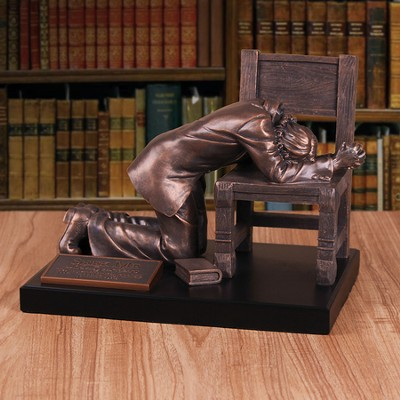 Praying Man Sculpture, X-Large  -