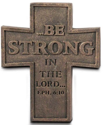 Be Strong Cross Magnet  -