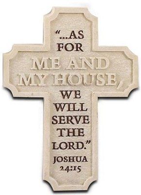 Serve the Lord Cross Magnet  -