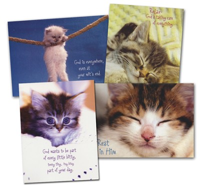 Kitten Encouragement Cards, 24   -